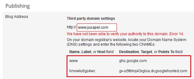 Tutorial Mengganti Domain blogspot menjadi .com di Niagahoster