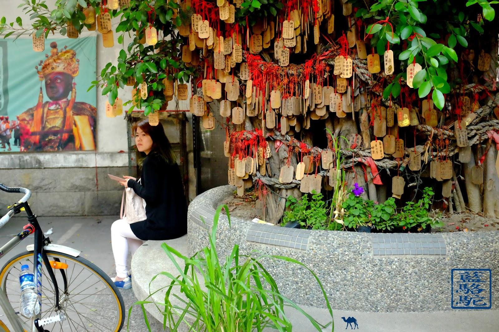 Le Chameau Bleu - Arbre à souhaits Temple à taitung Taiwan Formose
