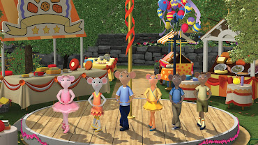 #1 Angelina Ballerina Wallpaper