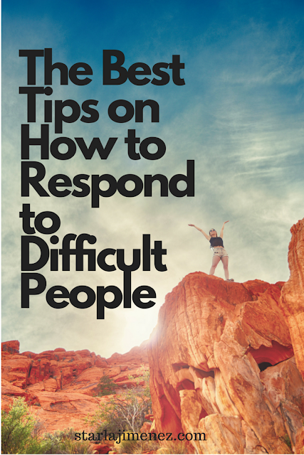 How to respond to difficult people