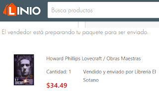 libro Howard Phillips lovecraft en linio