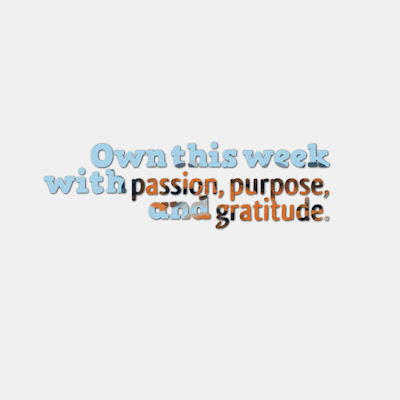 Many Motivational Quotes. Daily Thought: Passion, Purpose, And Gratitude.