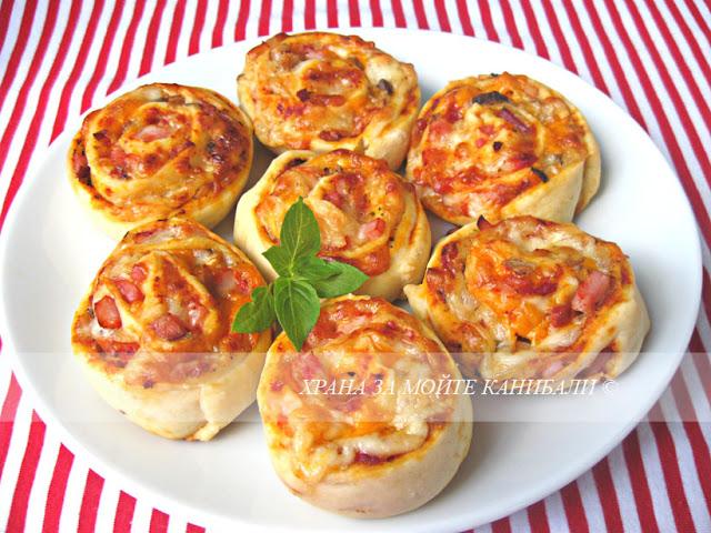 Охлювчета пица