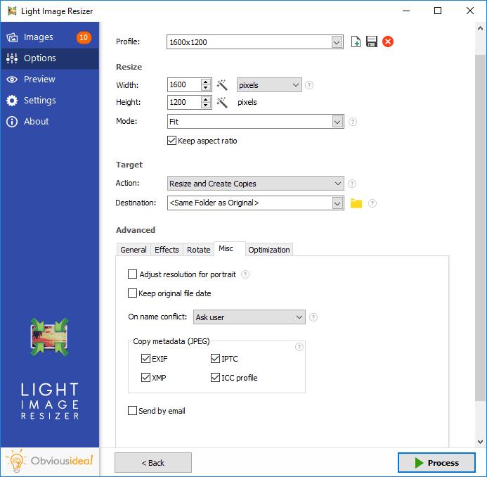d9d5c6622 برنامج تغيير مقاسات الصور Light Image Resizer احدث اصدار - فولدر برامج