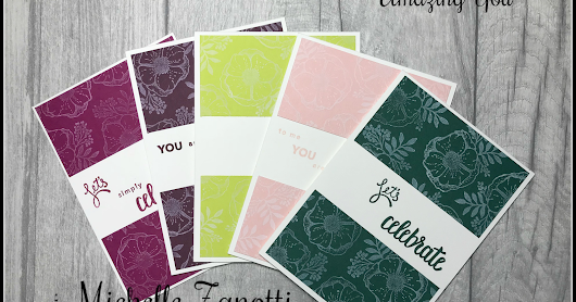 Stampin' Up! Amazing You does 2017-2019 In Colors