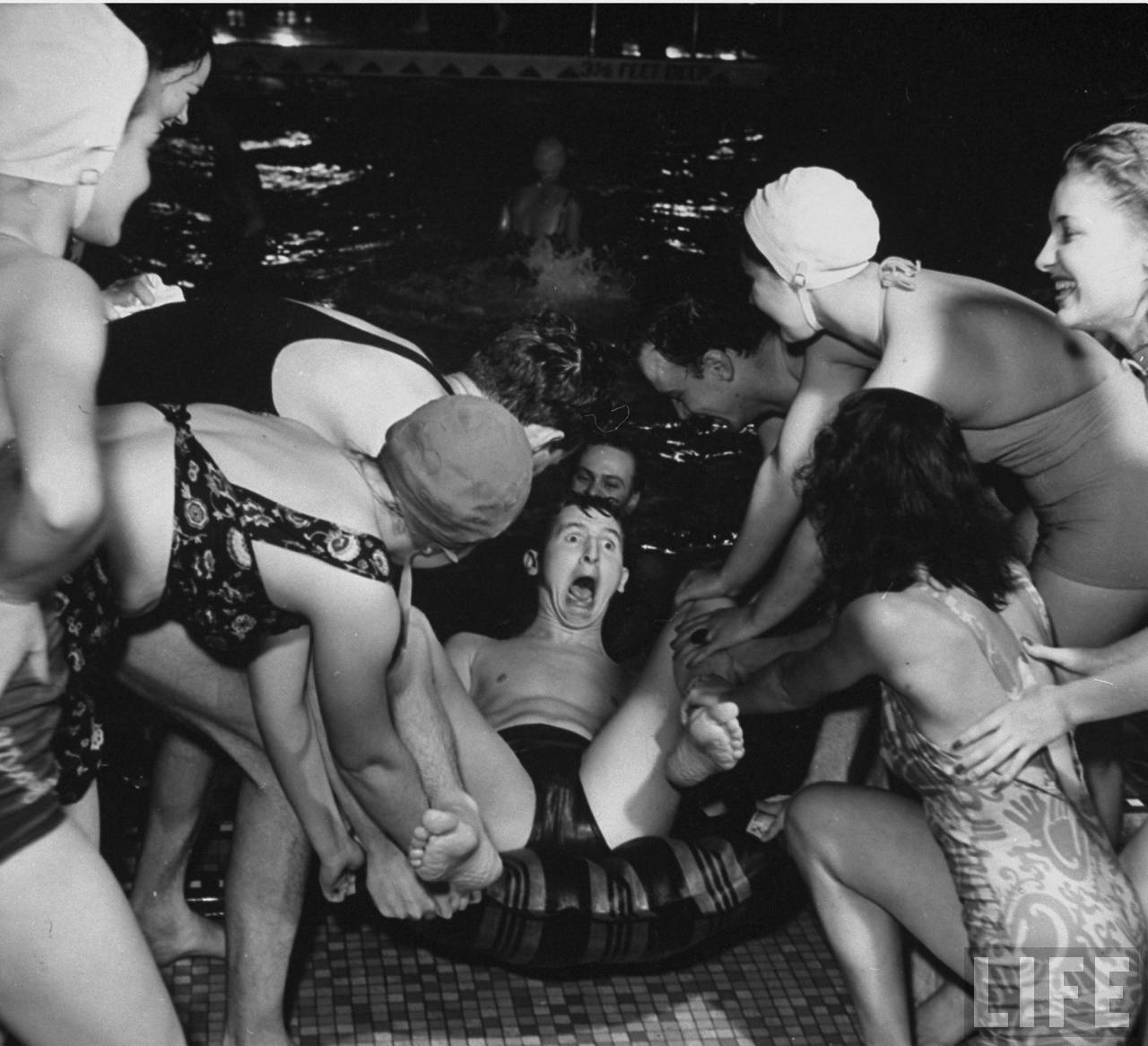 And The Guess From Messynessy That This Might Have Been Some Sort Of Promotional Or Wrap Party For 1940 Musical Starring Lucille Ball Too Many S