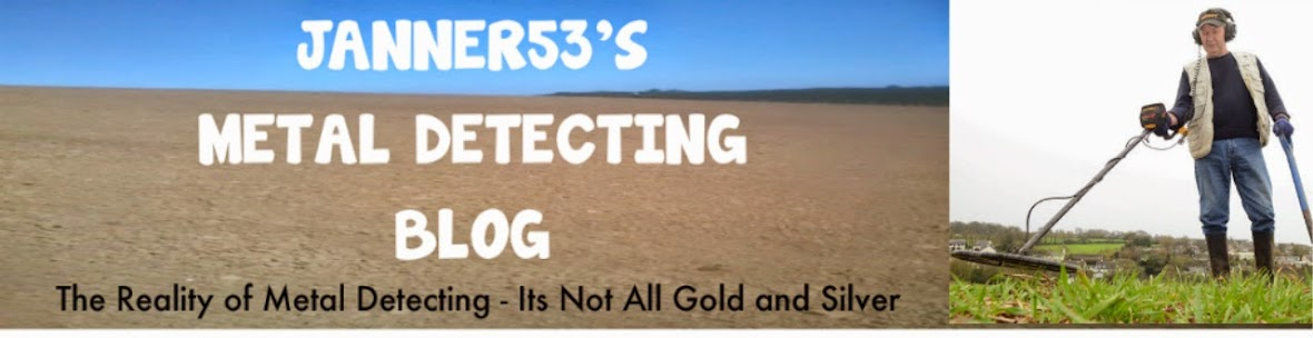 JANNER53's METAL DETECTING BLOG