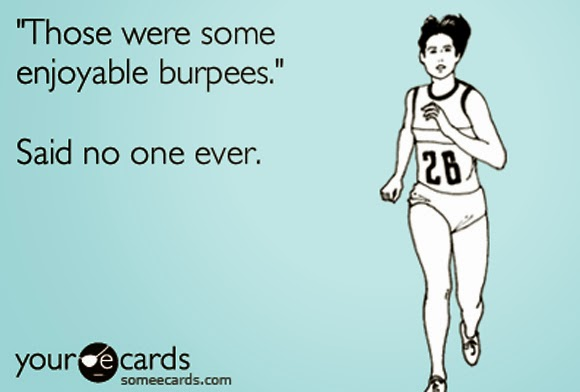 No one likes burpees