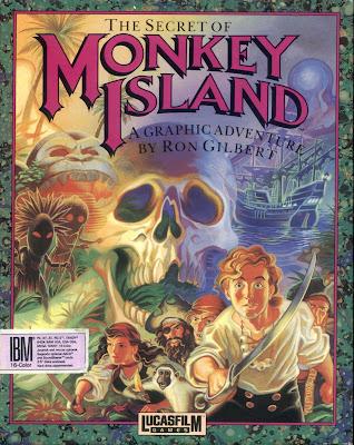 Portada original videojuego The Secret of Monkey Island