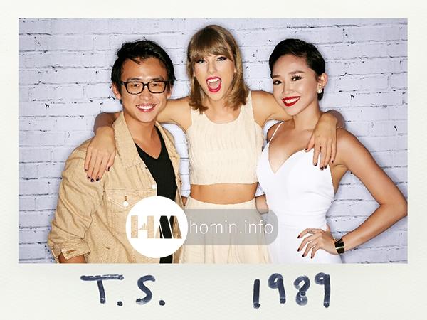 Tóc Tiên Taylor Swift 3