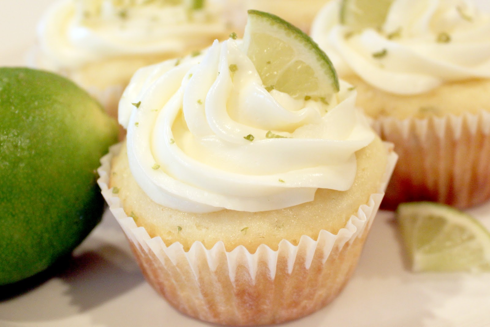 creatively christy: Key Lime Coconut Cupcakes