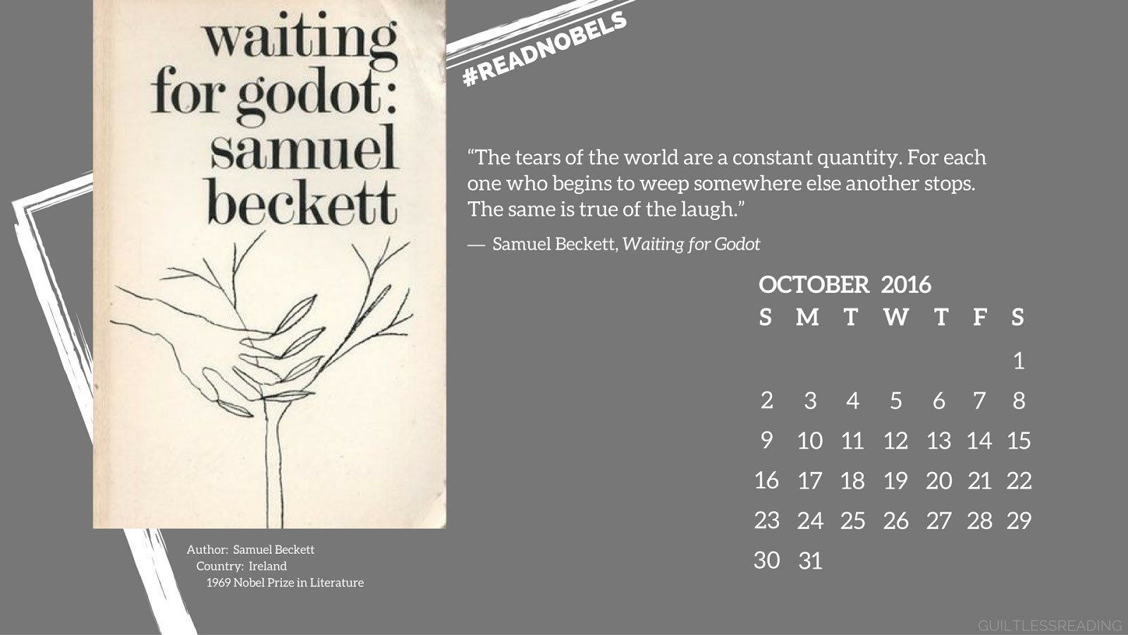 analysis of samuel beckett s waiting for 124 quotes from waiting for godot: 'the tears of the world are a constant quantity for each one who begins to weep somewhere else another stops the sam.