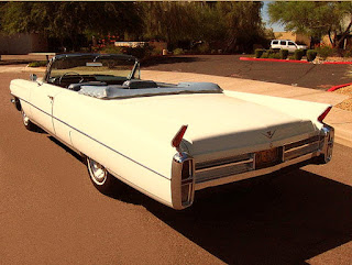 1963 Cadillac DeVille Convertible Rear Left