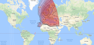 Satellite Beam Intelsat 35E 34.5°W KU Band