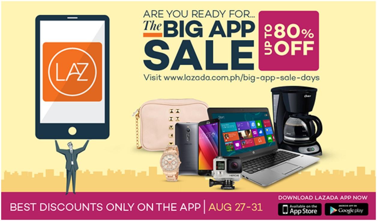 The Lazada Big App Sale
