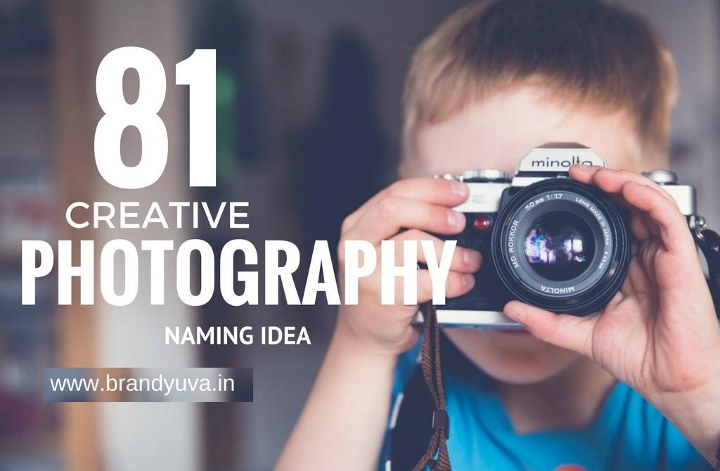 81 Creative Photography Business Names Idea