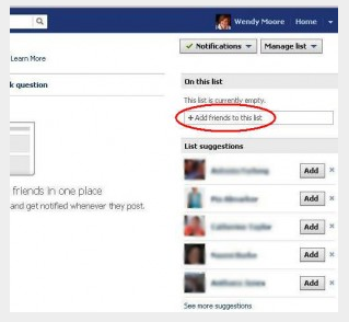 How To Create A List On Facebook