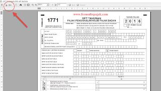 Cara Menyimpan eSPT PPh Badan ke PDF