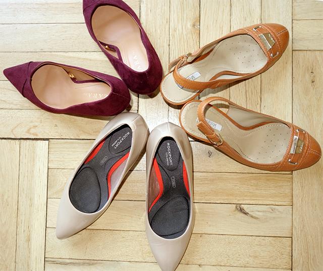 Topánky pre zrelé ženy