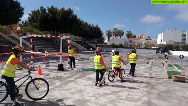 El Cabildo continúa su plan de formación para escolares en materia de seguridad vial