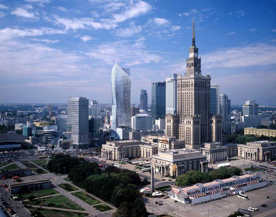 Varsóvia, Capital da Polônia