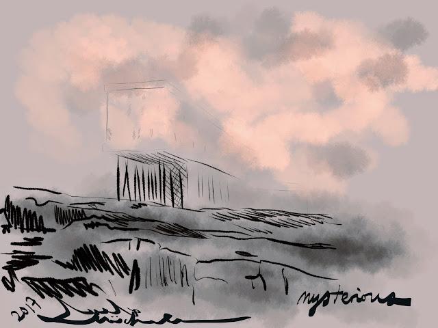 Mist Eeriness at Fogo Island Inn