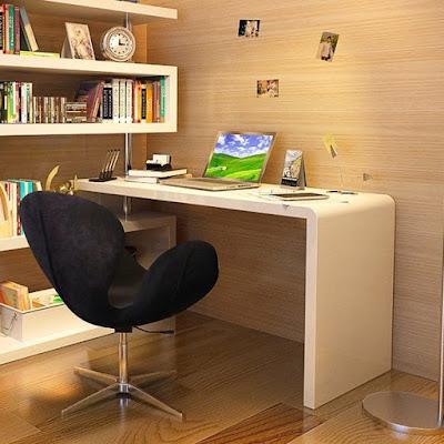 Ruang kerja minimalis