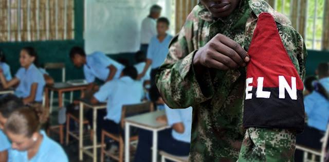 Denuncian infiltración de guerrilla del ELN en escuelas venezolanas