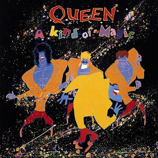 """Capa do disco """"A Kind of Magic"""", lançado em 1986 pelo Queen."""