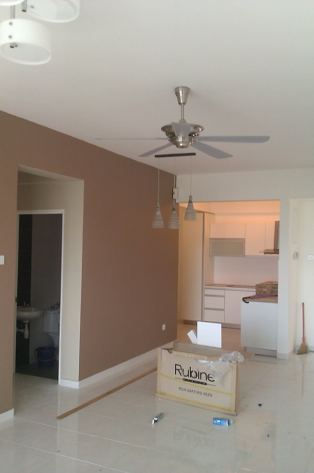 Kitchen plus electrical installation