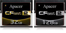 Apacer CFast 2.0 memory cards