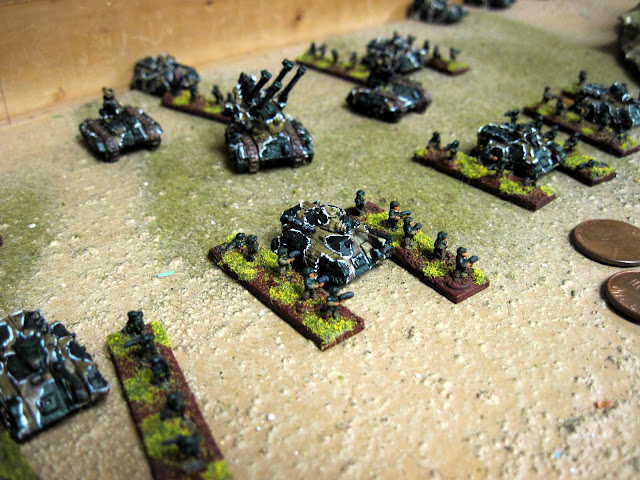 Karl's Guard, ready to hit the meat grinder.