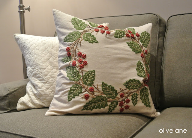 Olive Lane Holiday Pillows