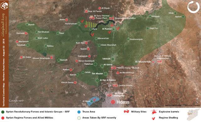 Video: Tidak Mau Kalah dengan Pejuang Aleppo, Pejuang Hama Coba Perluas Wilayah