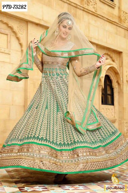 Stylish Diwali Festival Special Anarkali Suit at Low Cost