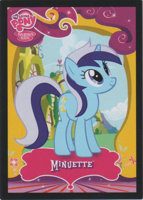 Mlp Minuette Trading Cards Mlp Merch
