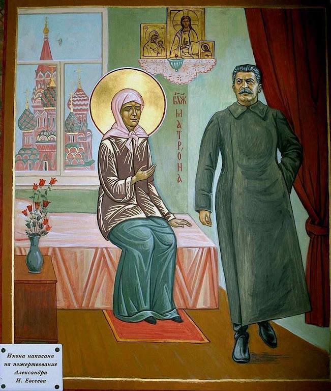 'Santinho' soviético: Santa Olga se aparece a Stalin e o aconselha na II Guerra Mundial