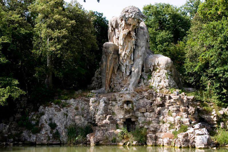 30 Of The World's Most Incredible Sculptures That Took Our Breath Away - Villa di Pratolino, Florence, Italy