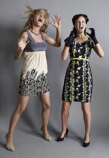 Serena e Blair primeira temporada de Gossip Girl