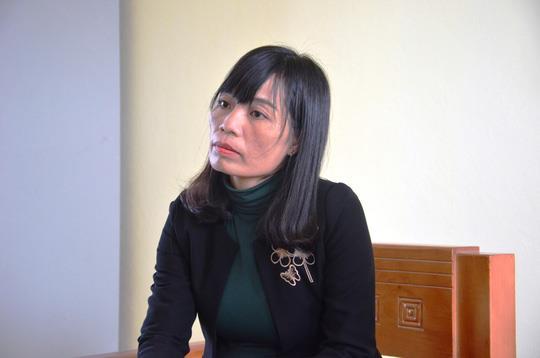 Bà Phạm Thị Lệ Anh – Hiệu trưởng Trường THCS Duy Ninh