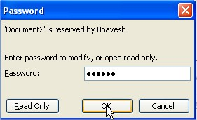 Enter Password to Modify