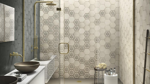 Spain Tiles: Eden Rags - A Sophisticated Retro Majolica Effect