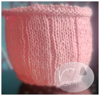 świecznik na drutach