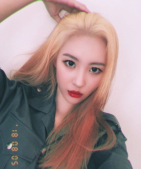 Sunmi Changed Her Hair Color!   Daily K Pop News