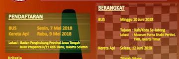 Cara Daftar Mudik Gratis 2018 dari Pemprov Jawa Tengah