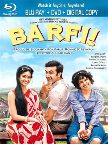Barfi 2012 Hindi Bluray Movie Download