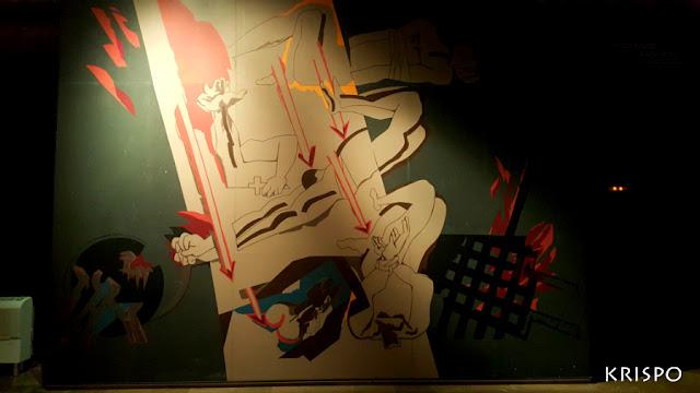 mural de nestor basterretxea de aranzazu