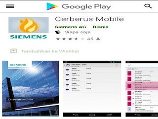 Aplikasi Cerberus Anti Maling