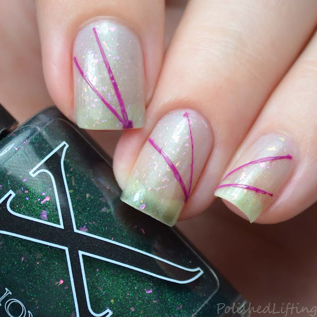 thermal nail polish art