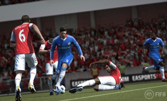 FIFA 12 (titled FIFA Soccer 12 in North America) is the nineteenth game in Electronic Arts' FIFA series of association football video games. It is being developed by EA Canada, and will be published by Electronic Arts worldwide under the EA Sports label.
